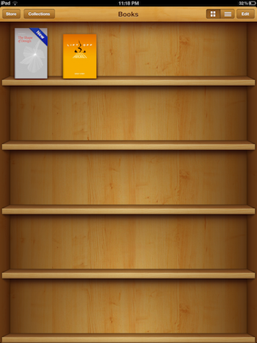 In iBooks