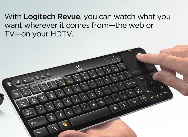 Logitech - Google TV remote